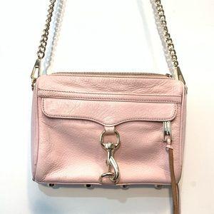 Rebecca Minkoff M.A.C. Crossbody Petal Pink Gold